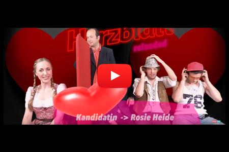 Herzblatt mit Georg und Rosie