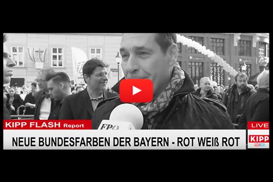 Foto Willlachen Kipp Flash Nö zu FPÖ